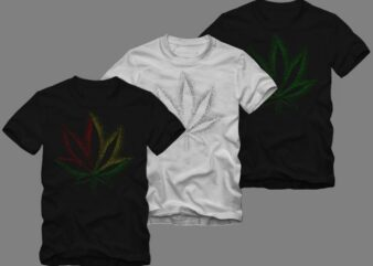 Green Power of Cannabis Leaf t shirt design, cannabis t shirt design, canabis t shirt, smoker t shirt, stoner t-shirt design for sale