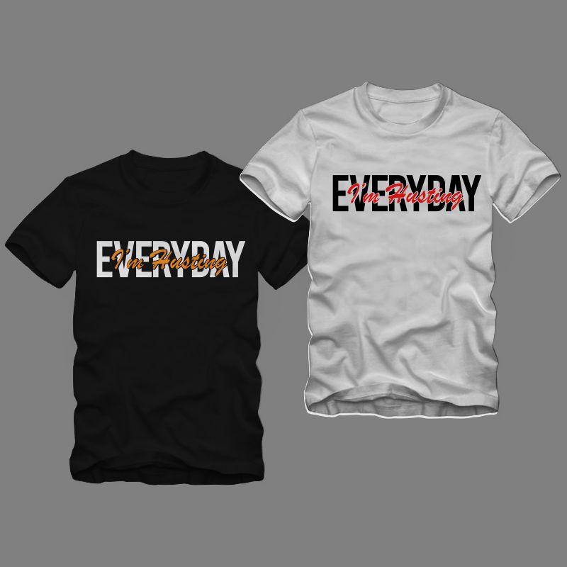 90% OFF Hustle T shirt design, 100% Vector (AI, EPS, SVG, PDF, SVG, PNG), Hustle Bundle T shirt Design sale for commercial use.
