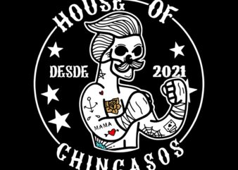 House of chingasos svg, desde 2021, House of chingasos vector, desde 2021 clip art svg, House of chingasos vector, Boxing svg, Boxing vector