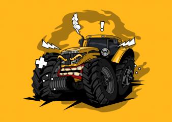 Tractor monster farm
