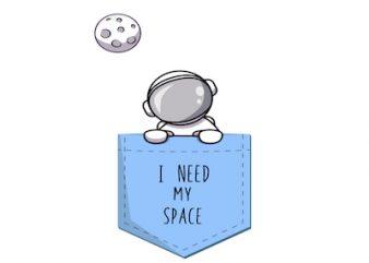 astronaut – SVG design – svg – eps – ai – png