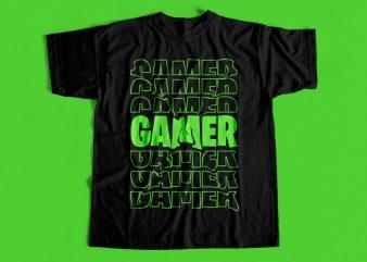 Dope Gamer T shirt design for sale