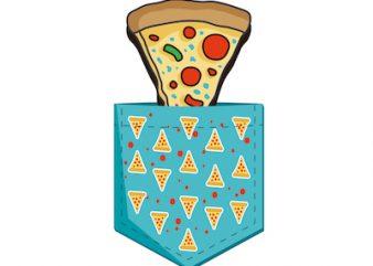 Pocket Pizza Design SVG-EPS-AI-PNG-JPG