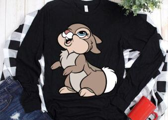 Rabbit design t shirt template vector, Rabbit Svg, Rabbit vector, Rabbit, Bunny Svg, Bunny vector, Bunny