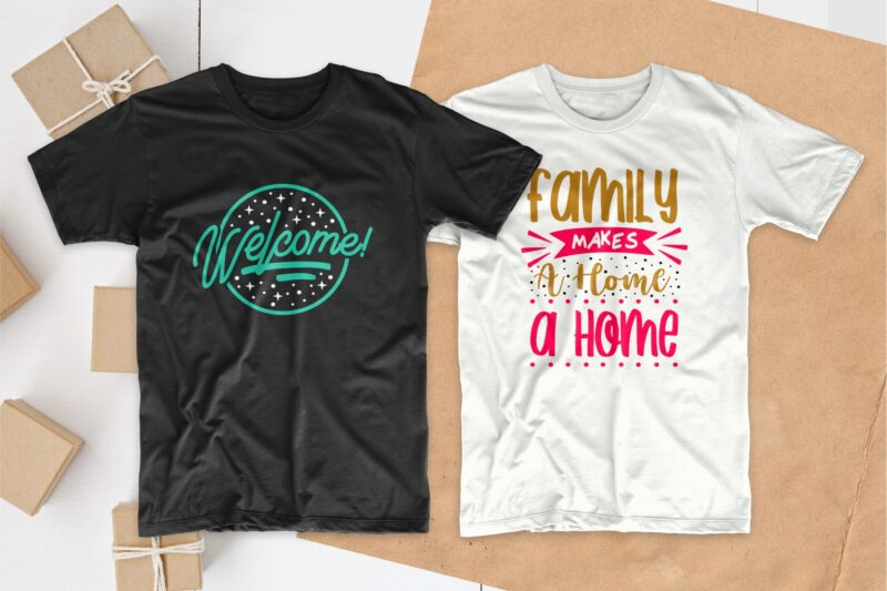 Home quotes t-shirt designs bundle, cozy house quotes t shirt design, Set of creative quotes for home or house of lovers, Typography t shirt design, House of lovers t shirt design, EPS SVG PNG PSD