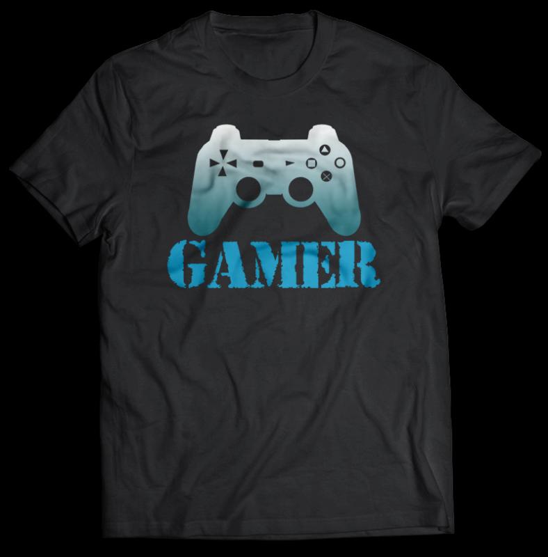 107 GAMER Bundles Tshirt design best Gaming 2021