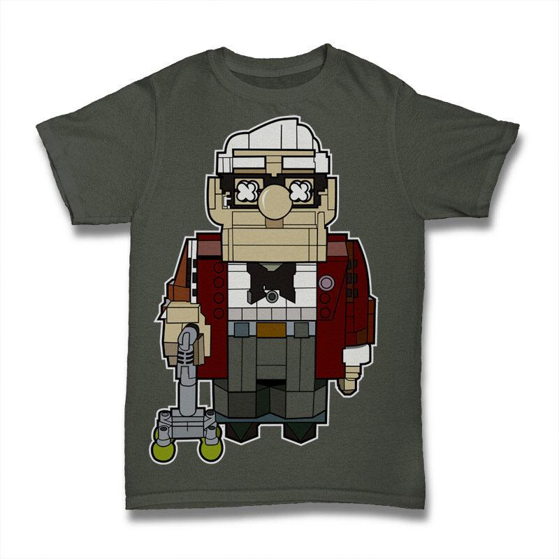 25 Kid Cartoon Tshirt Designs Bundle #1