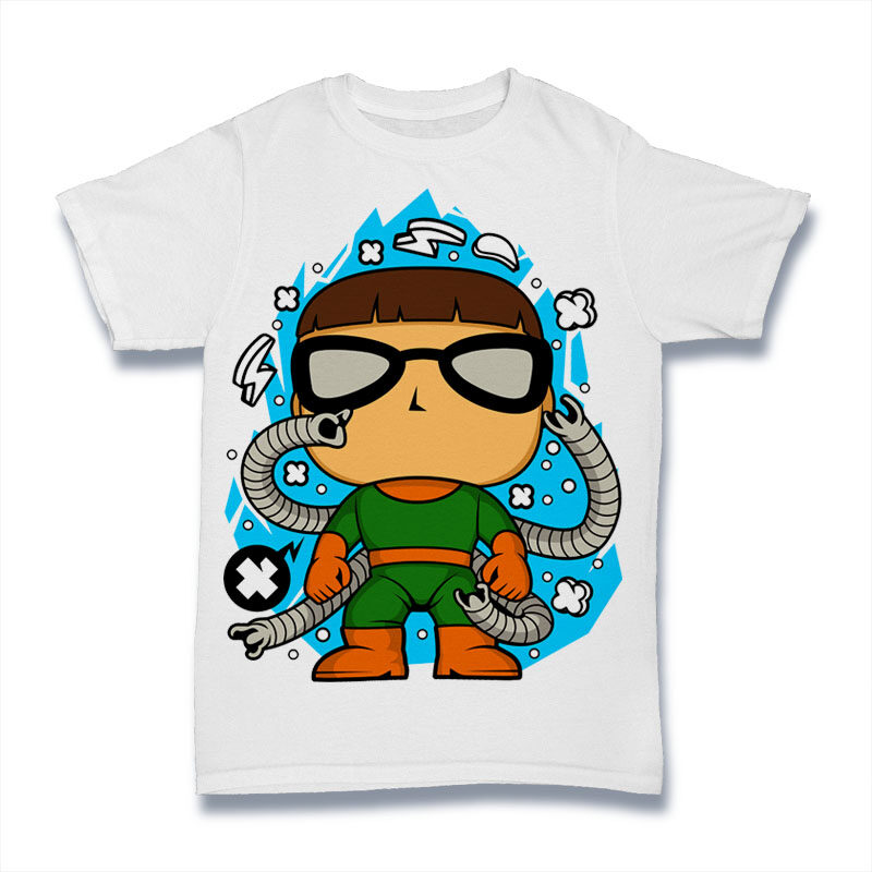 25 Kid Cartoon Tshirt Designs Bundle #6
