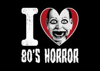 I LOVE 80S HORROR REVENGER