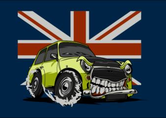 MINI MONSTER CAR