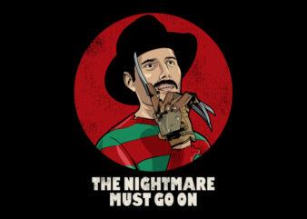 NIGHTMARE MUST GO ON