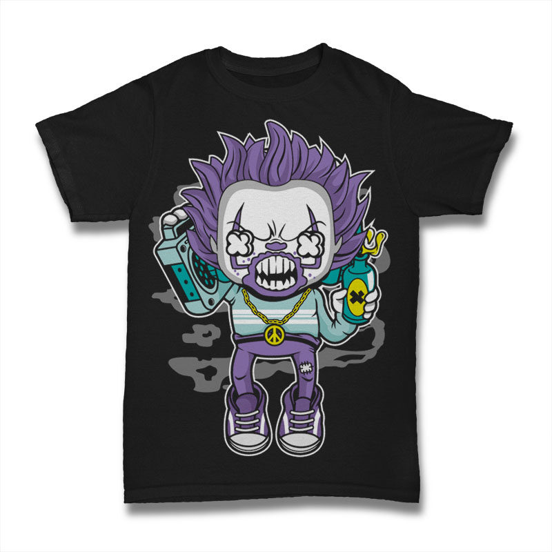 25 Kid Cartoon Tshirt Designs Bundle #10