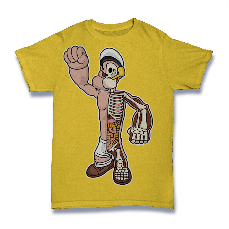 25 Kid Cartoon Tshirt Designs Bundle #2