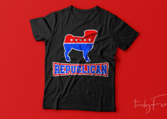 Repuglican Funny t shirt design for sale