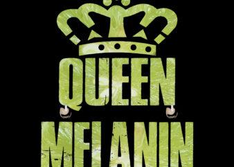 Melanin vector, Melanin PNG, Melanin, Melanin Queen PNG, Melanin queen with crown, Melanin Queen vector, Melanin vector, Oheneba Melanin shirt for women black girl afro queen