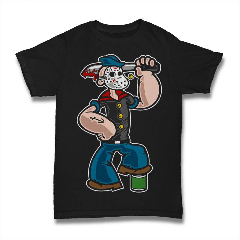 25 Kid Cartoon Tshirt Designs Bundle #9