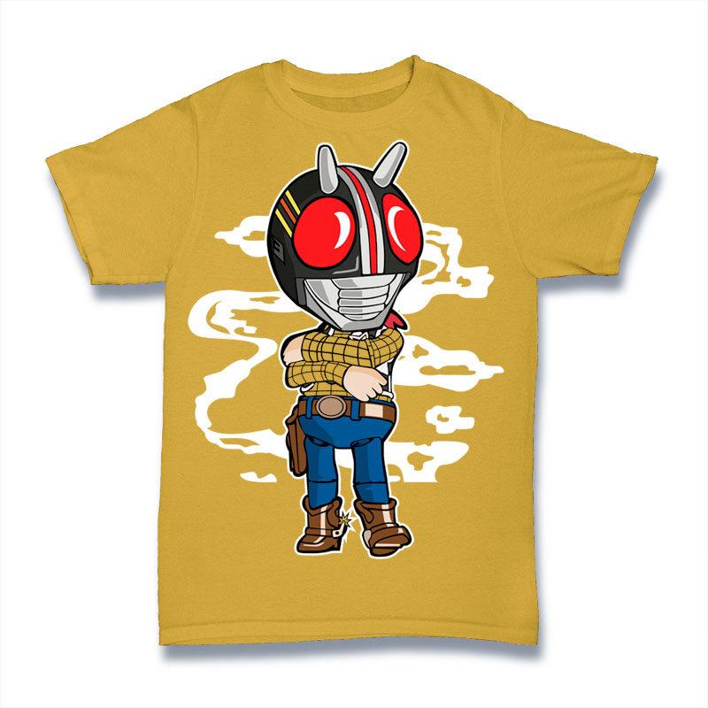 25 Kid Cartoon Tshirt Designs Bundle #3