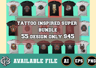 tattoo inspired super bundle