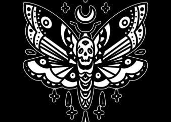 dark moth