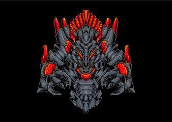 Dragon robotic monster