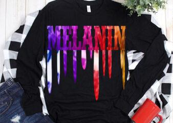 Melanin, Melanin PNG, Dripping lips melanin t shirt design, Melanin vector, Black Women