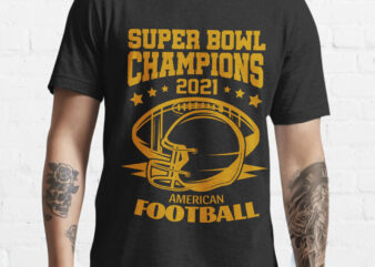 Superbowl champions day 2021 Tshirt design