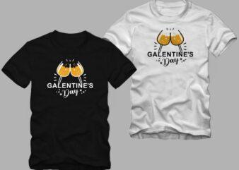 Galentine's day t shirt design. cool t shirt design, celebrating galentine's day t shirt design for sale