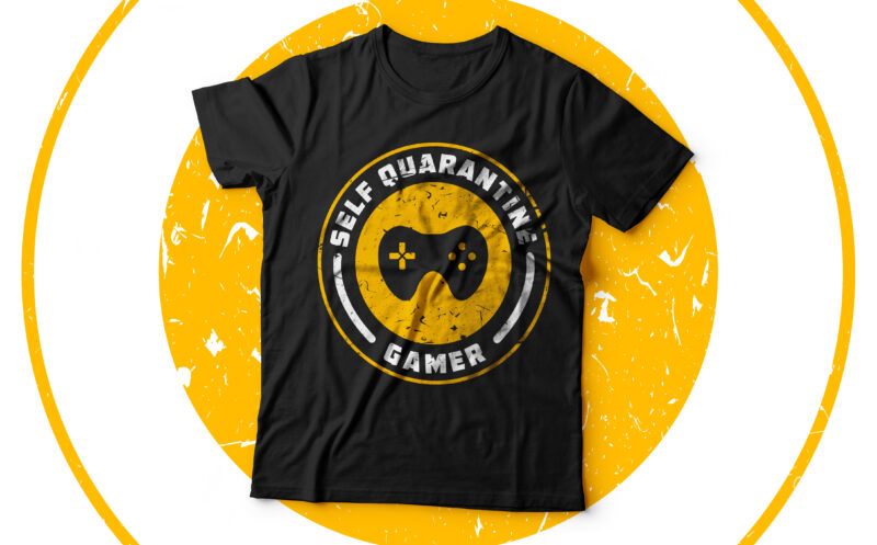 Gaming T shirt Bundle Vol 3 Ready to print with high resolution source files