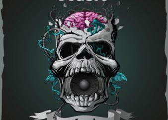 Vector Skull – Musical Mania