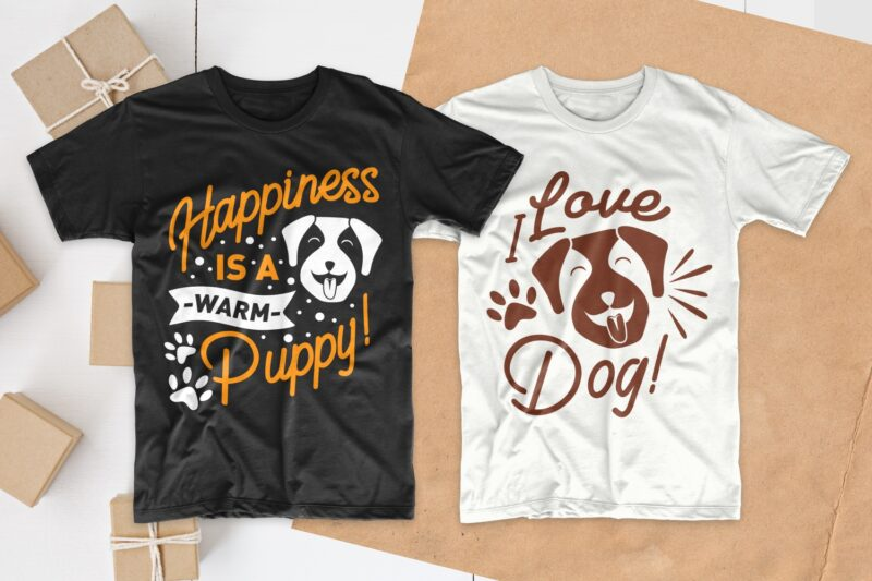 Dog quotes t shirt design, dog typography quotes, dog t shirt designs bundle, dog t-shirt design pack collection for commercial use