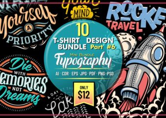 10 T-SHIRT DESIGN MINI BUNDLE PART 6