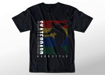 t shirt design graphic, vector, illustration skateboard lettering typography