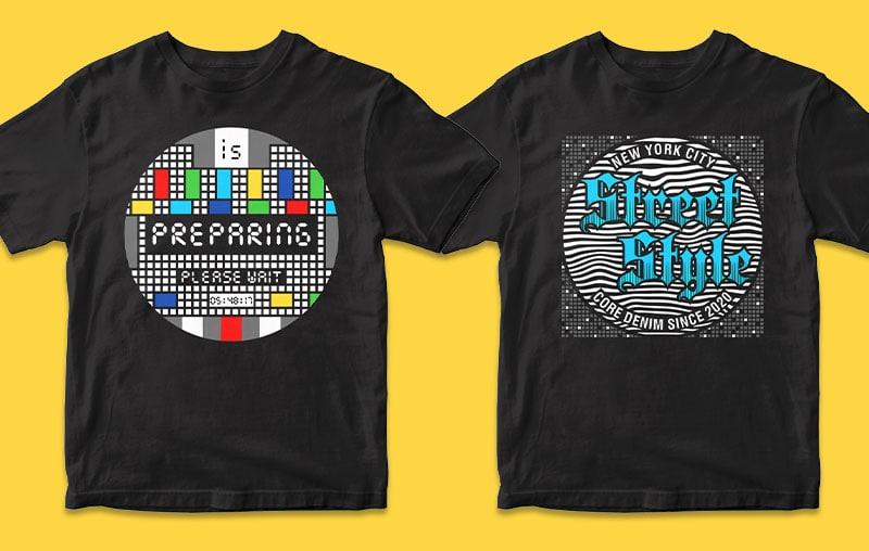 315 desain kaos bundel, grafik, vektor, ilustrasi kutipan motivasi dan inspirasional gamer vintage gaminglettering tipografi trendi