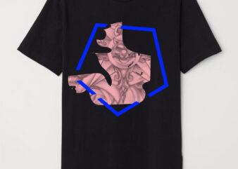 Geometric vintage esoteric tshirt design