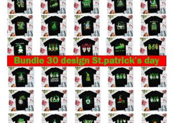 Bundle 30 design Gnome Patrick Day , Gnome Patrick Day PNG, St Patrick Day PNG, Bundle, St Patrick Gnomes, Gnome St Patricks Png, patrick day png, patrick day design, Patrick Gnomes Png, Gnome Lover patrick day, Gnome lucky, Gnome vector