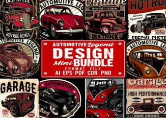 Automotive Legend Mini Bundle 1