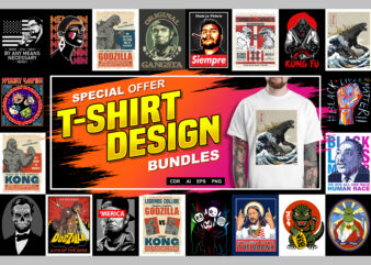 SPECIAL OFFER T-SHIRT DESIGN BUNDLES