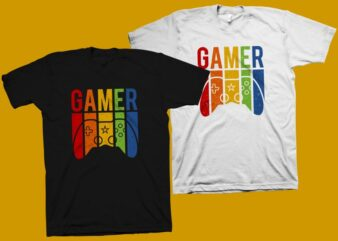 Gamer vector illustration, gaming controler t shirt design, gaming control svg, gamer svg, gamer png, gaming t shirt, gaming svg, gamer t shirt design for sale