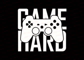 Game hard T-Shirt Design