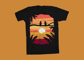 Hello summer vector illustration, summer svg, summer png, surf svg, surf png, surfing t shirt design, beach t shirt, summer t shirt design for sale