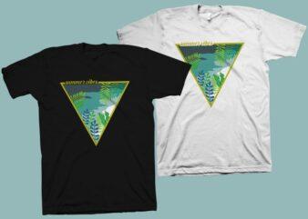 Summer vibes vector illustration, summer svg, summer png, surf svg, beach svg, summer vibes t shirt design for sale