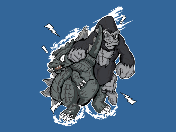 THE EPIC DUEL t shirt designs for sale