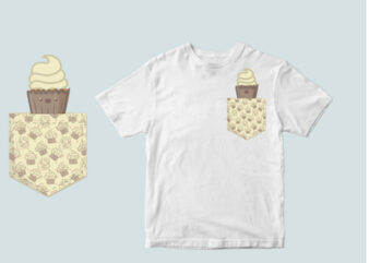 cake pocket svg, sugar pocket , candy pocket, svg , tshirt design