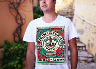 Culture/ Pride / Brown Lives / Mexican / Hispanic / 5 de Mayo / Dia De Los Muertos