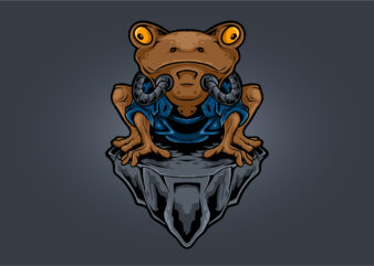 Frog Ninja Cyborg