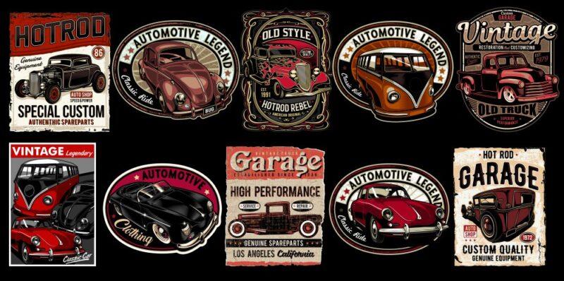 Automotive Legend Mini Bundle 1