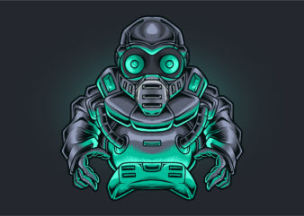 Ninja Robot Gamer