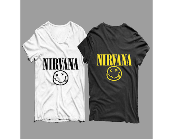 nirvana t shirt design