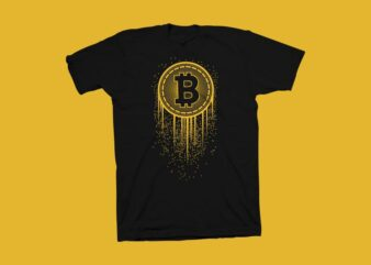 My generation t shirt design, Bitcoin Generation vector illustration, hustle t shirt design, Cryptocurrency vector illustration, New generation t shirt design for sale