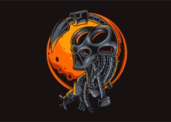 Skull Head Robotic